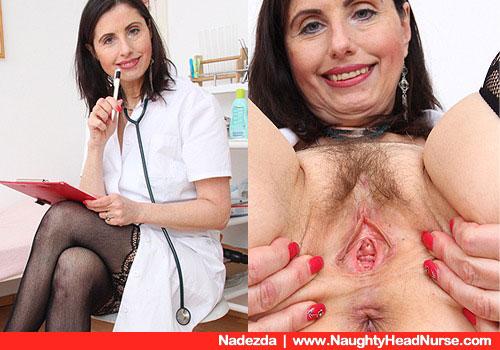 Nadezda die freche Krankenschwester